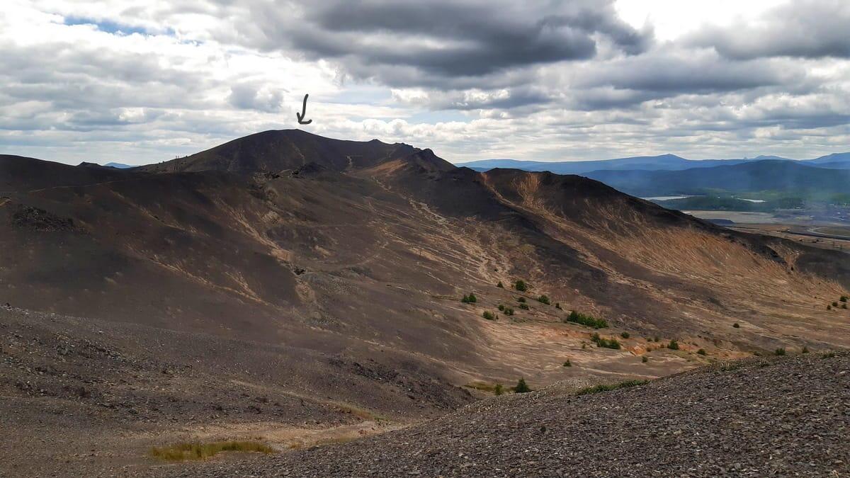 Вид на гору в Карабаше