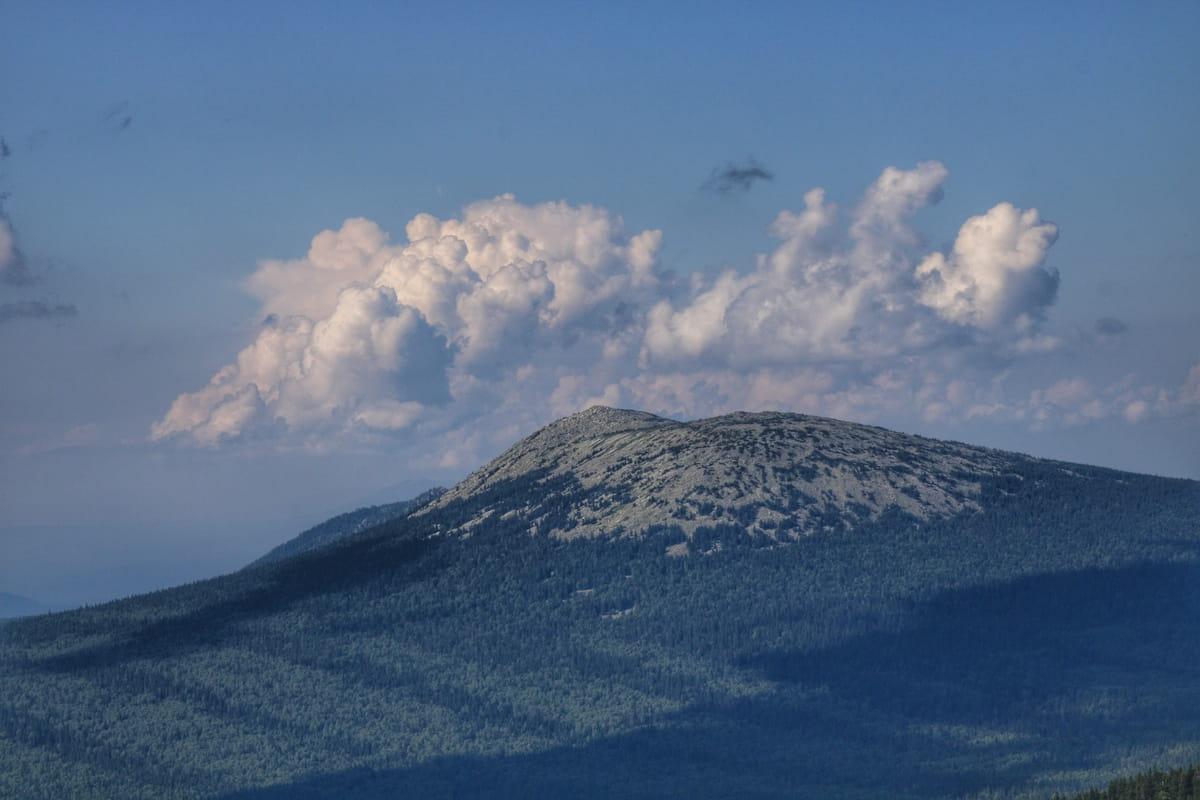 Вид на гору Круглица на Таганае