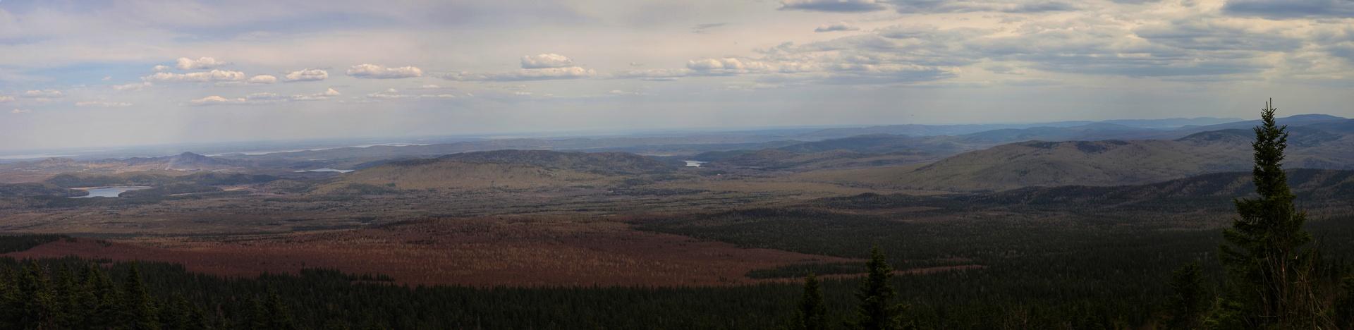 Панорамный вид с вершины Юрмы