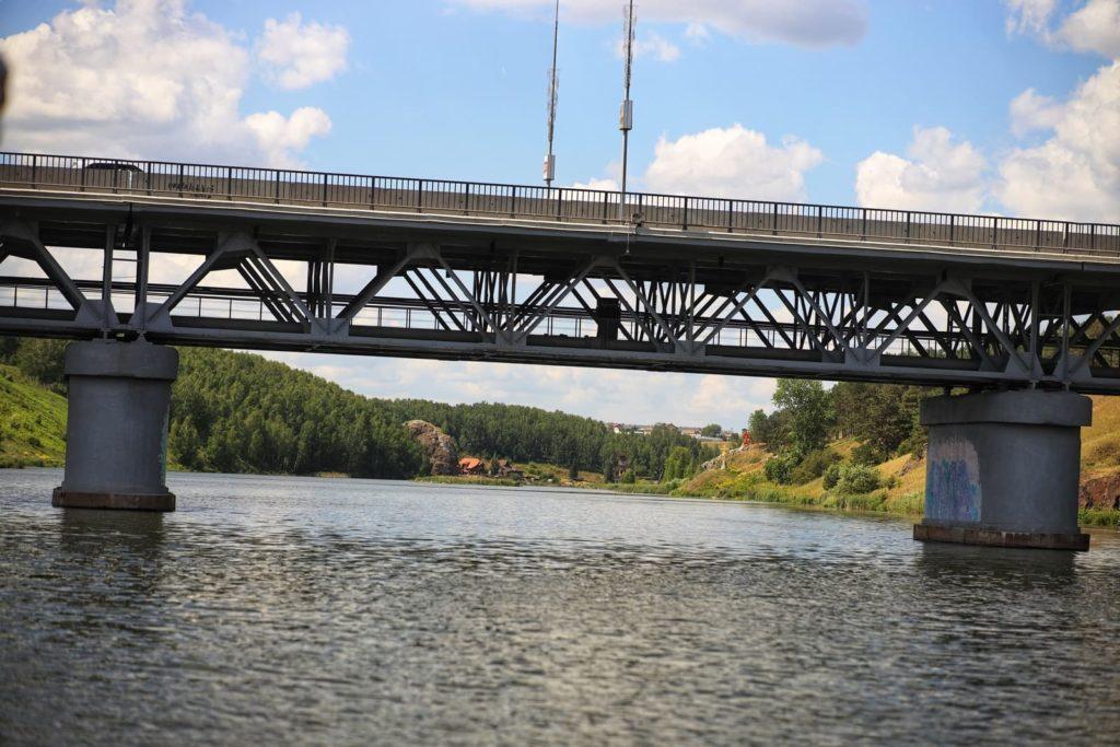Байновский мост, г. Каменск-Уральский