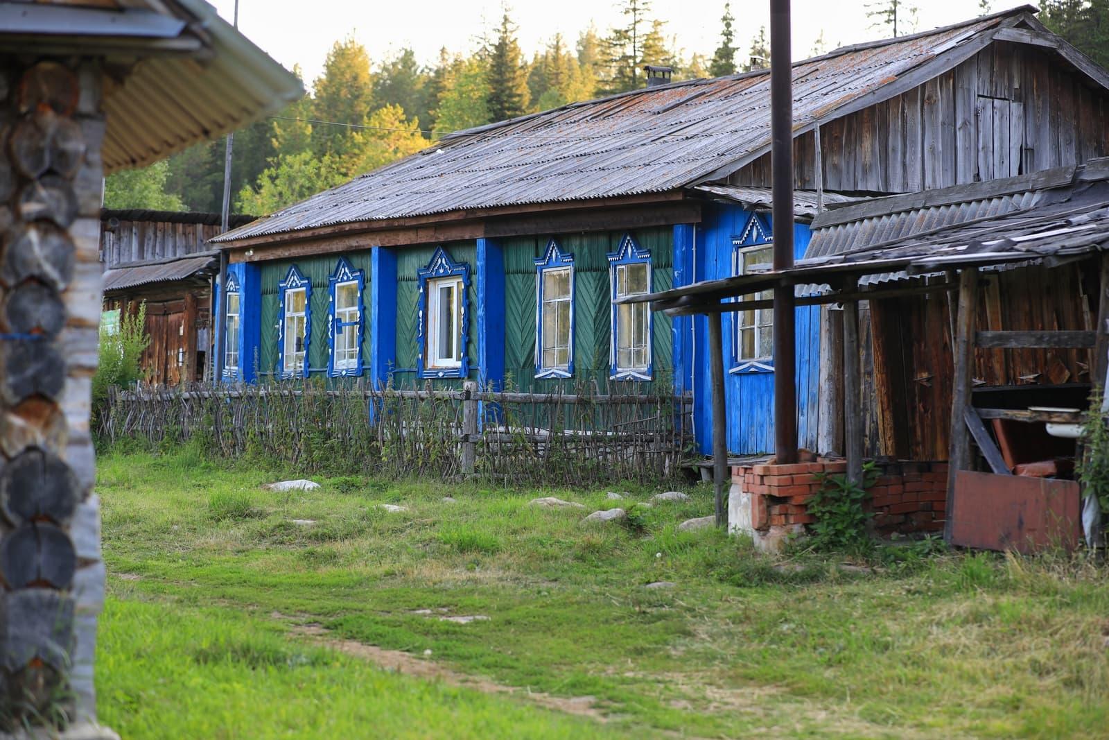 Дом смотрителя на Киалимском приюте на Таганае