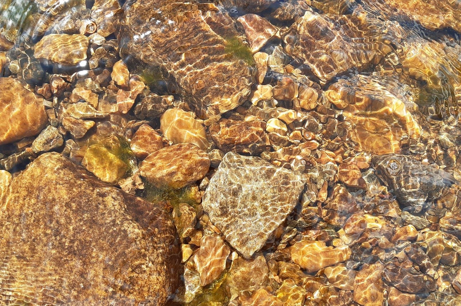 Прозрачная вода в реке Большой Киалим