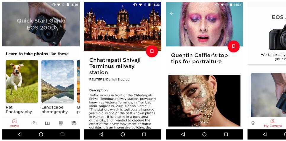 Мобильное приложение Canon Photo Companion