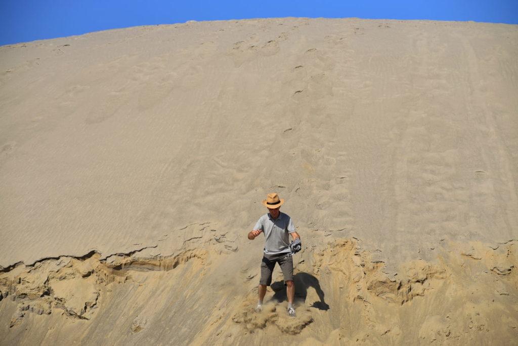 Фотосессия в пустыне, песчаная дюна в Тайгинке