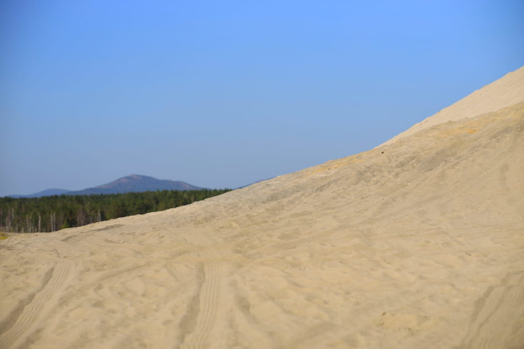 Фотосессия в пустыне, песчаная дюна
