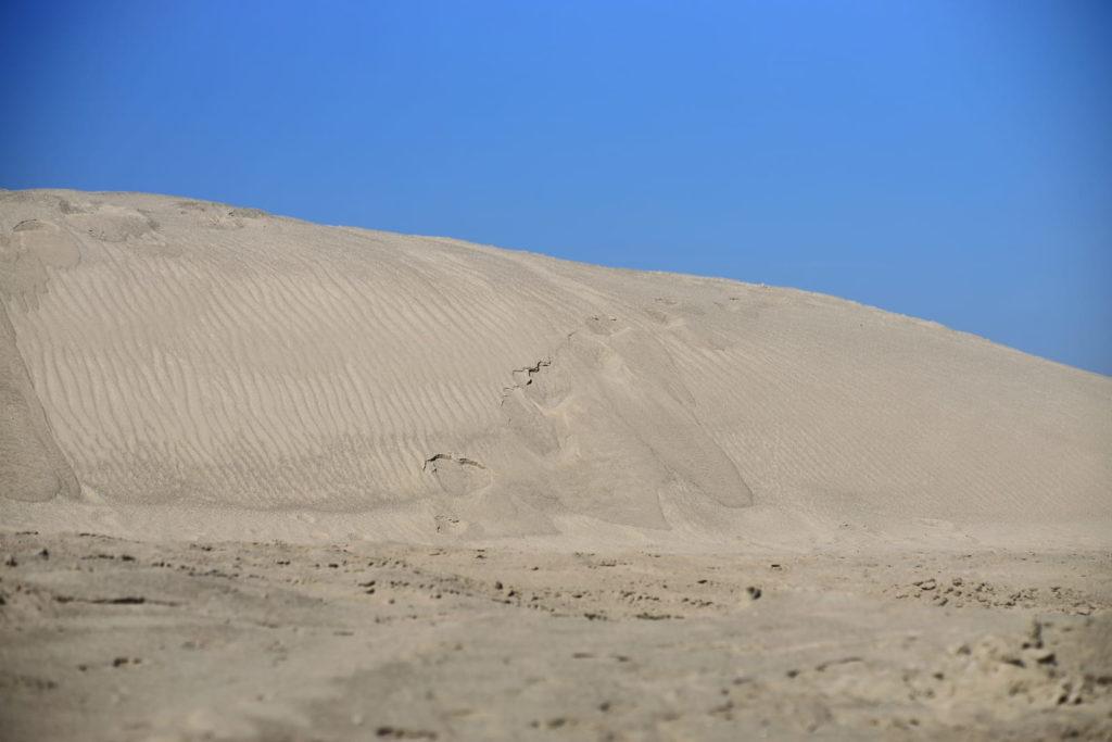 Песчаная дюна в Тайгинке
