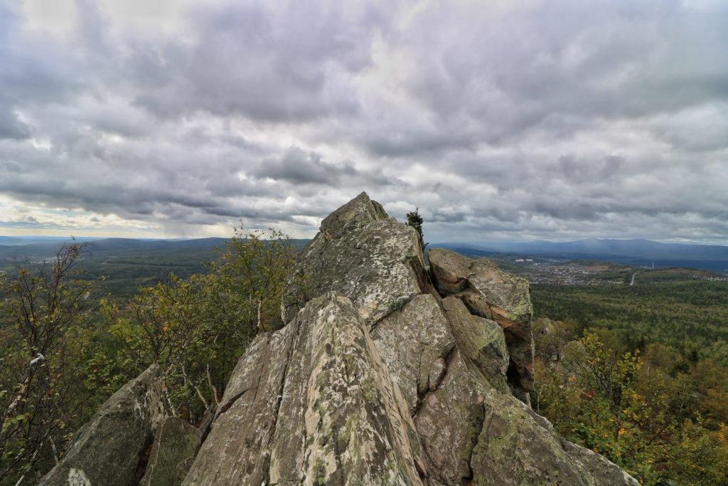 Александровская сопка, вид с вершины